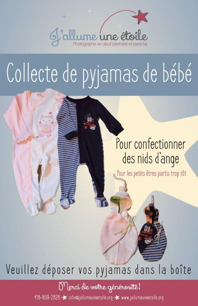 collecte pyjama